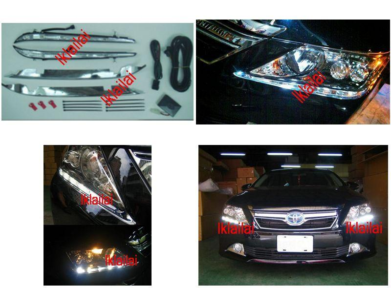 Toyota Camry `12 ASV50 Front Bumper Daytime Running Lamp [10pcs LED]