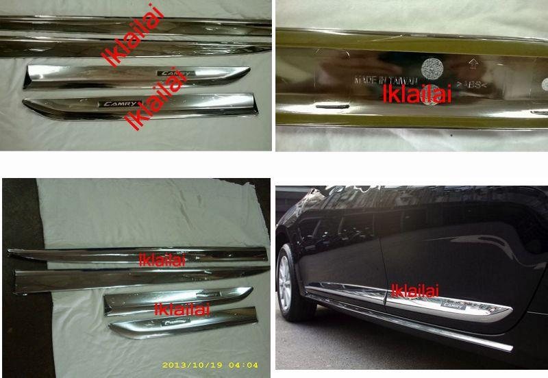Toyota CAMRY '12 Door Moulding Chrome Lining