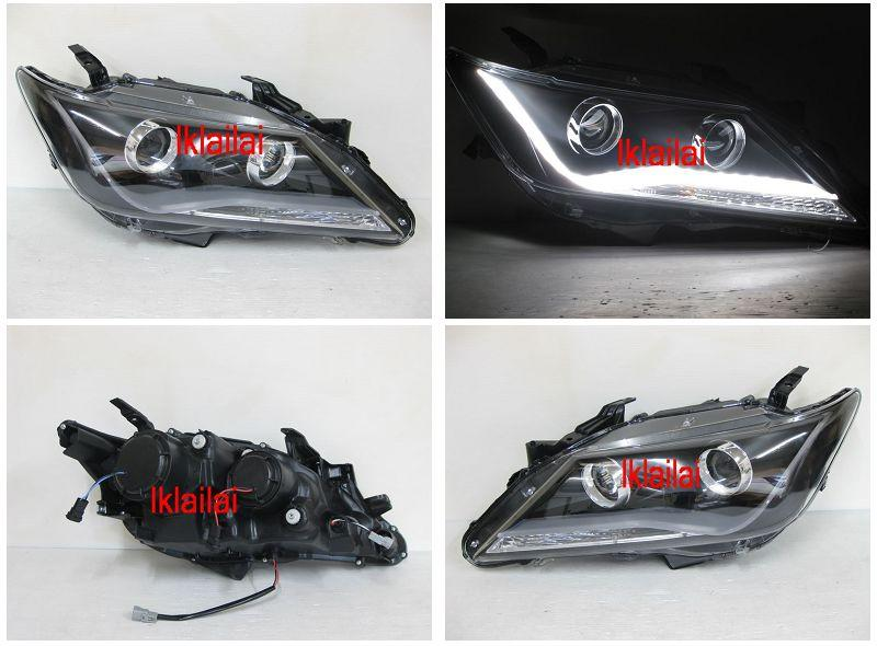 TOYOTA CAMRY '12 Projector Head Lamp Cool Starline DRL