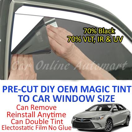 Toyota Camry 2002 - Present Magic Tinted Solar Window ( 4 Windows & Re