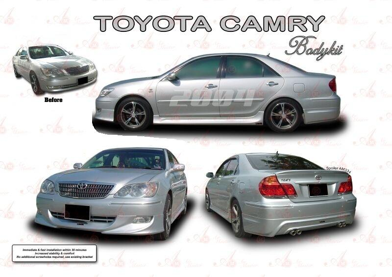 toyota camry 2004 body kit malaysia. Black Bedroom Furniture Sets. Home Design Ideas
