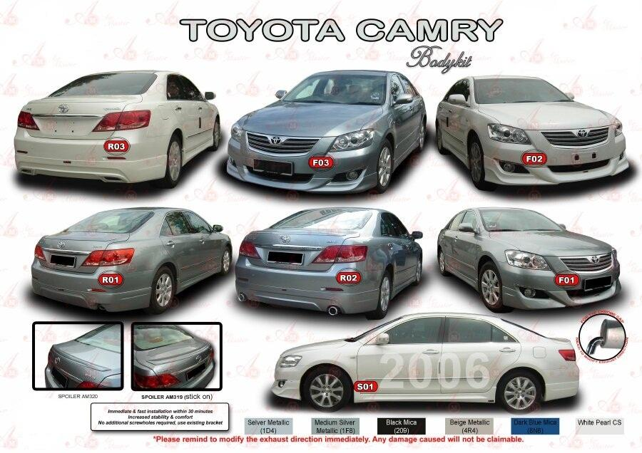 toyota camry 2006 airmaster b end 4 16 2015 2 17 pm myt. Black Bedroom Furniture Sets. Home Design Ideas