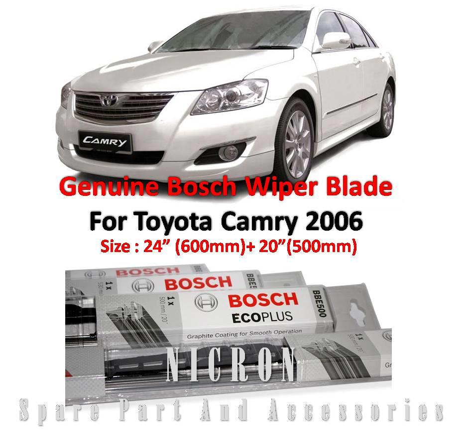 toyota camry 2006 wiper size toyota camry 2006 2007 2008. Black Bedroom Furniture Sets. Home Design Ideas