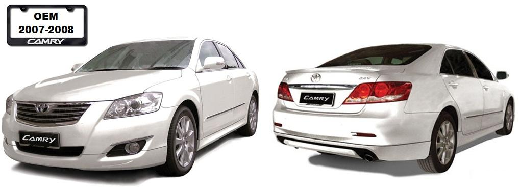 toyota camry 2007 2008 oem bodykits end 7 18 2016 1 15 pm. Black Bedroom Furniture Sets. Home Design Ideas