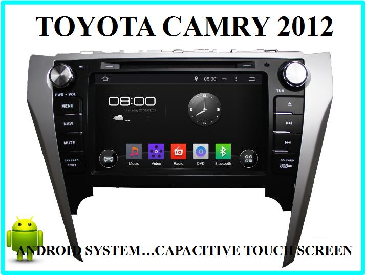 toyota camry 2012 car android playe end 9 3 2017 6 34 pm. Black Bedroom Furniture Sets. Home Design Ideas