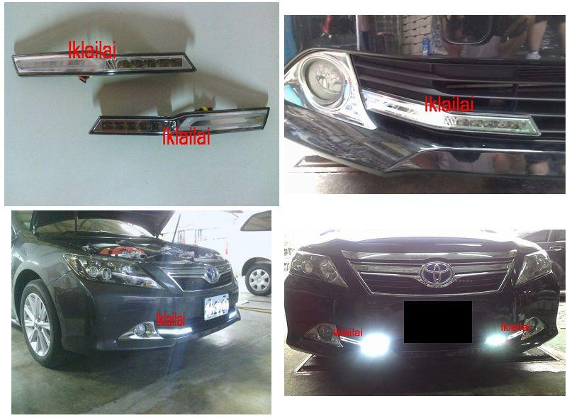 Toyota Camry 2012 Hybird DRL LED Light Bar Lamp