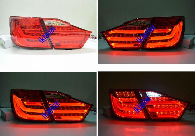 Toyota Camry 2012 LED Light 6-Bar Tail Lamp [BMW F10 Style]