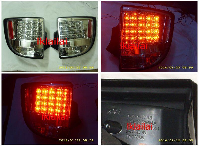 TOYOTA CELICA '00-04 LED Tail Lamp [Chrome]