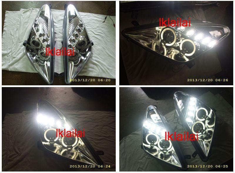TOYOTA CELICA '01 Dual LED Ring Projector Head Lamp [Chorme]