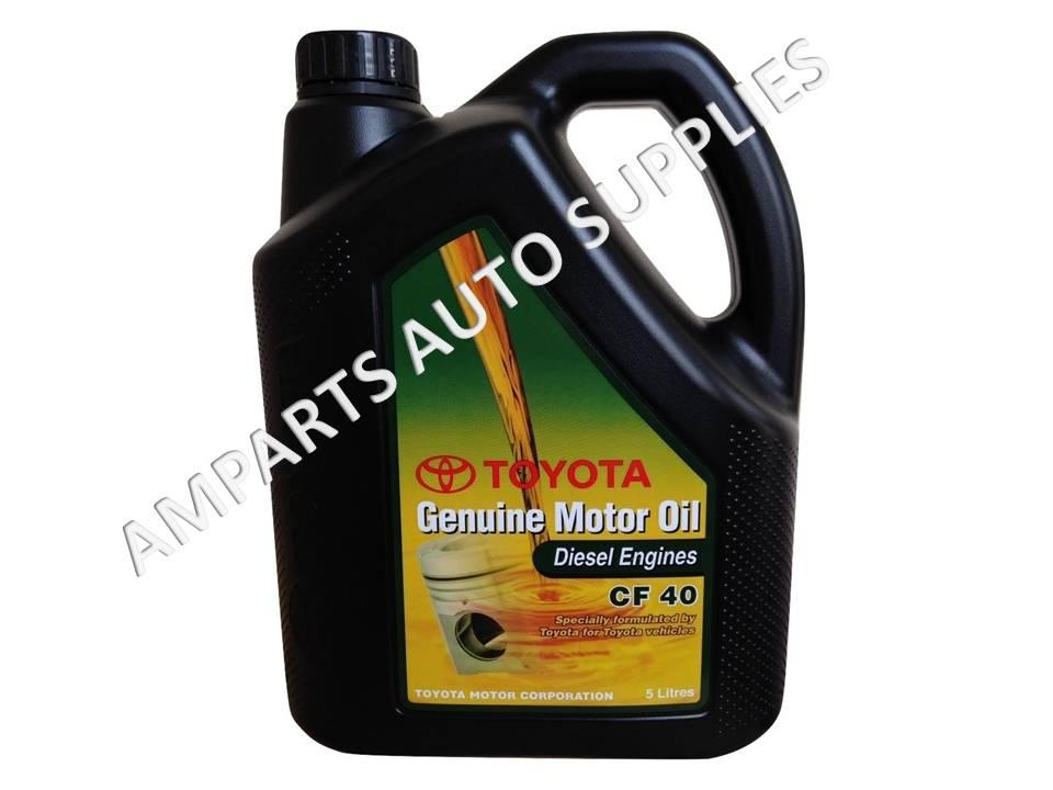 Toyota cf 40 genuine motor oil semi s end 4 7 2018 6 07 pm for Synthetic motor oil for diesel engines