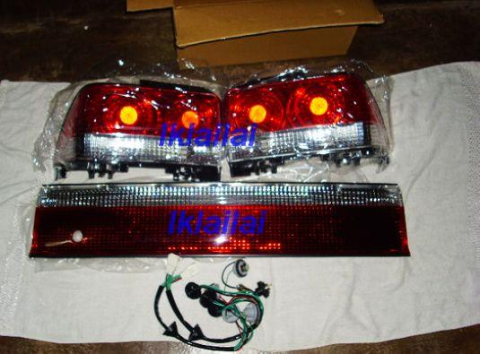Toyota Corolla '92-98 AE100/101 Rear Reflector & Tail Lamp [Crystal Re