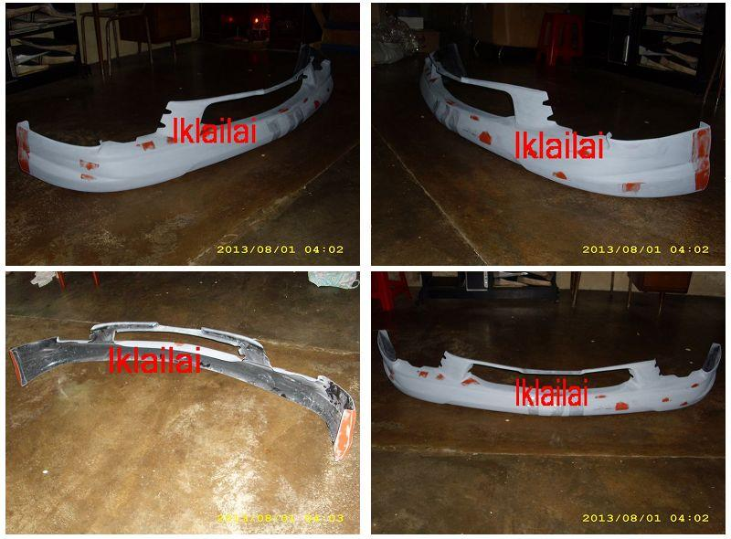 Toyota Estima '07 ACR50 Front Skirt Kenstyle ABS Material No Paint