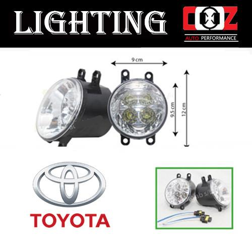 Toyota Estima 2008 Projector Fog Lamp Fog Lights LED Front Bumper Lamp