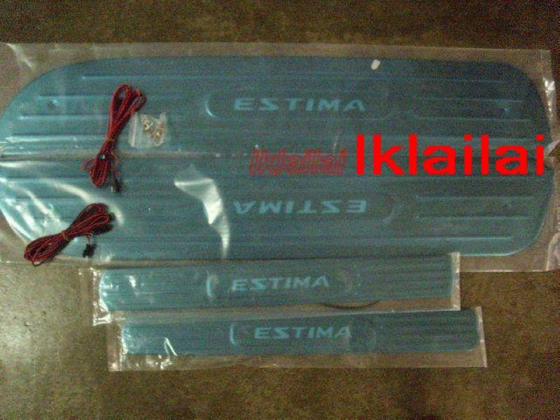 Toyota Estima ACR30 `02-07 Side/Door Sill Plate LED [4pcs/set]