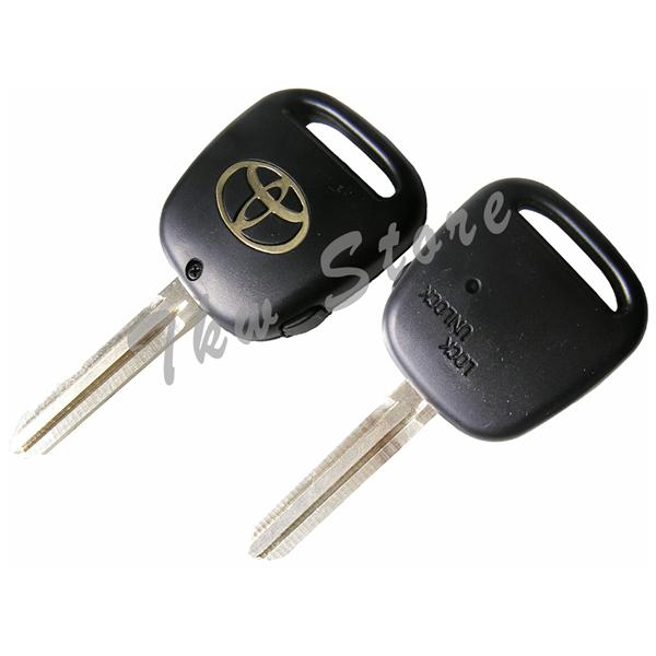 Toyota Harrier 1 Button Remote Key Cover Shell Case