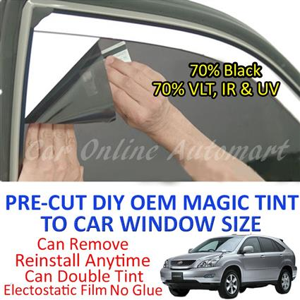 Toyota Harrier 2003 - Present Magic Tinted Solar Window ( 4 Windows &