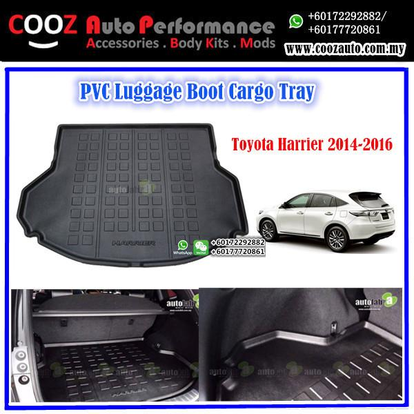 Toyota Harrier 2016 Luggage / Boot / Cargo Tray