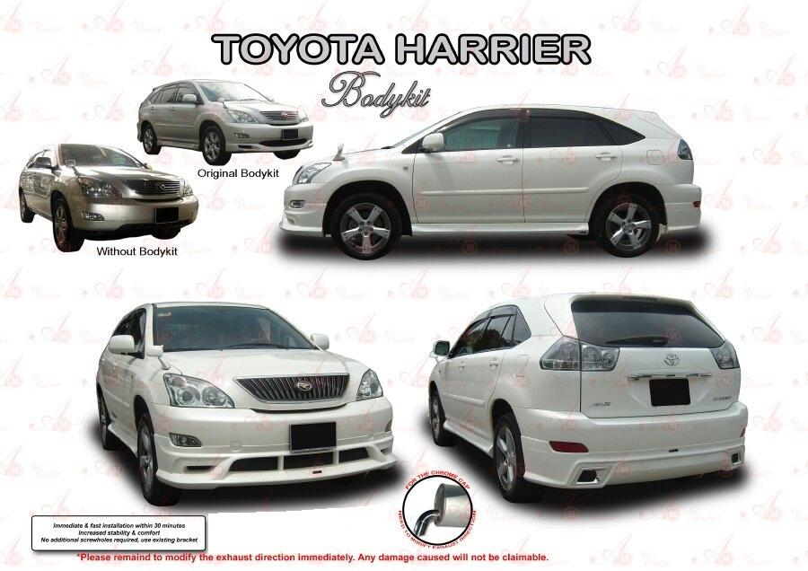 Toyota Harrier Accessories