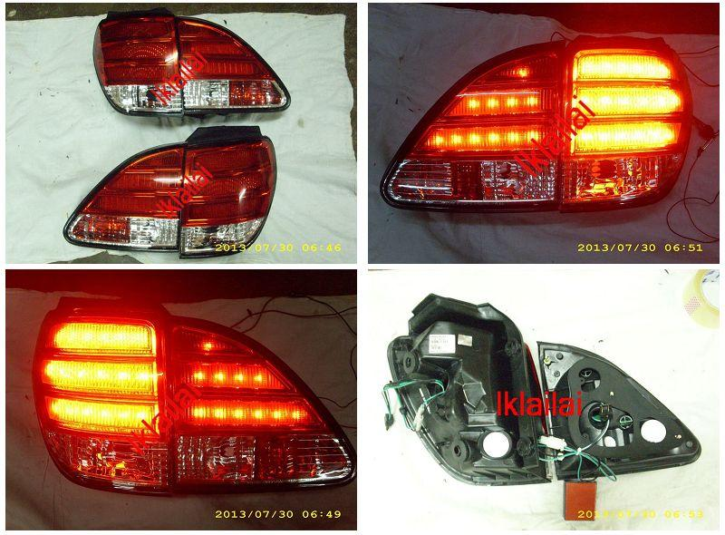Toyota Harrier RX300 '98-02 MCU15 LED Tail Lamp [Light Bar Look]