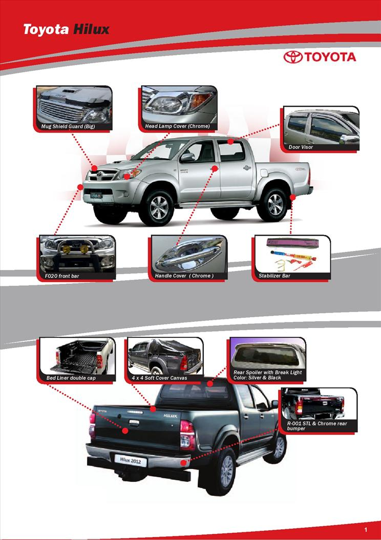 Toyota Hilux Accessories Amp Parts 1 Johor End Time 10 30