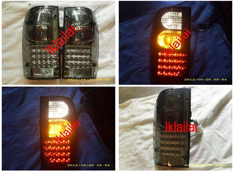 Toyota Hilux SR Turbo `01-03 Tail Lamp Crystal LED [Smoke or Red/Clear