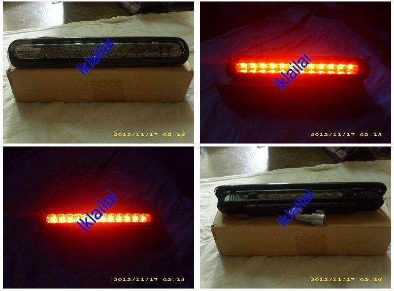 Toyota Hilux Vigo '04 3rd Brake Light With 12-LED [Red/Smoke Lens]