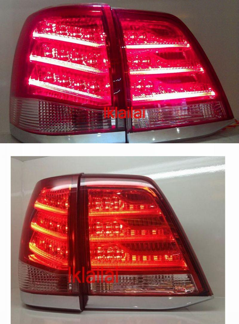 Toyota Landcruiser FJ200 `08-10 Crystal LED Tail Lamp