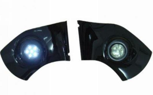 Toyota Landcruiser FJ200 `08 Door Mirror Under Light LED [TY58-DM03BW-