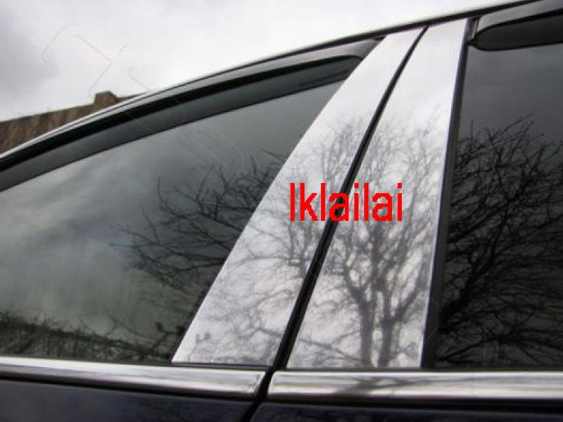 Toyota Prado `09 FJ150 Pillar Cover Chrome S/Steel [8pcs/set]