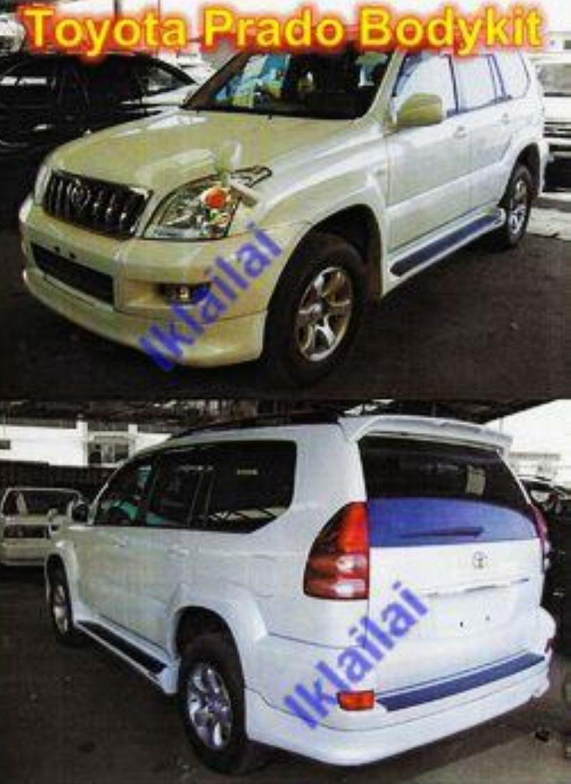 Toyota Prado FJ120 Full Set Body Kit PPU Material