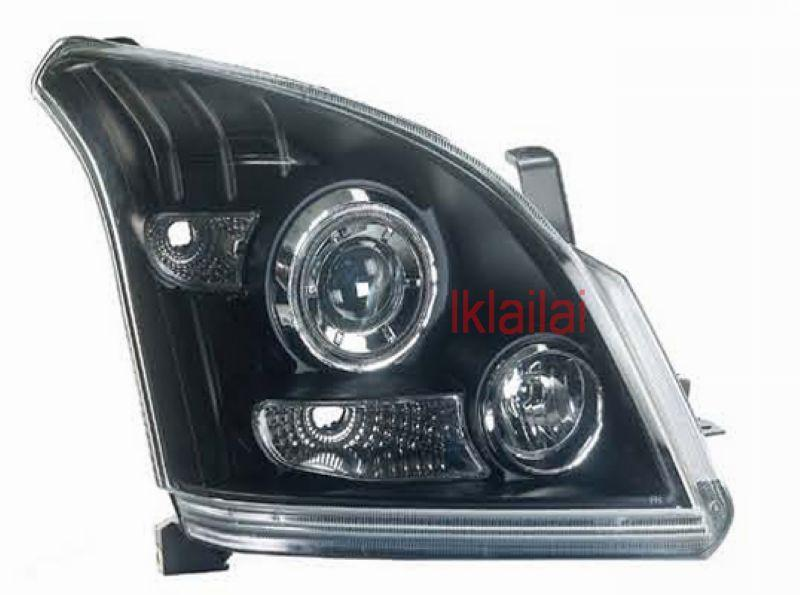 Toyota Prado FJ120 Projector Head Lamp Super Bright LED Ring