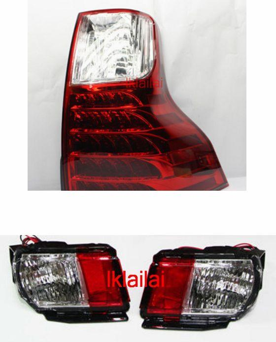 TOYOTA PRADO FJ150  09 LED Tail Lamp + Bumper Lamp Price per pair