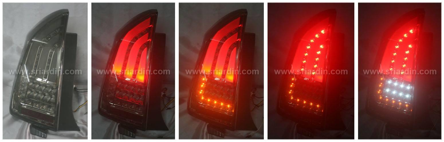 Toyota Prius 09-11 Full Smoke Light Bar LED Tail Lamp