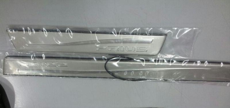 Toyota Prius Door / Side Sill Plate With LED Light [4pcs/set]