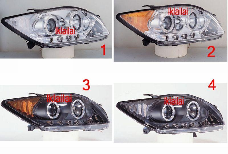 TOYOTA SCION TC 04 LED Ring Projector Head Lamp + 4-LED Price per pair