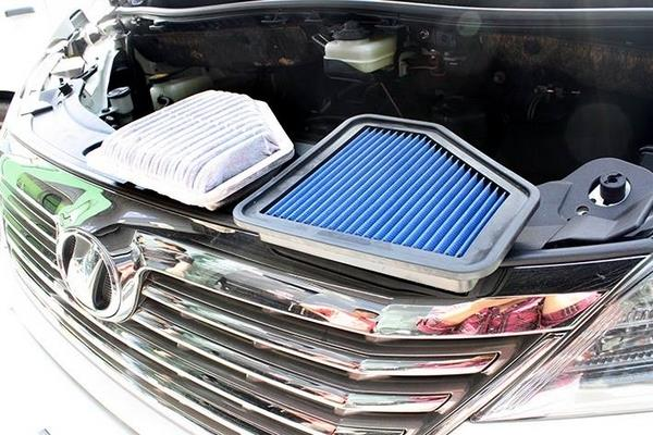 TOYOTA VELLFIRE ANH20 2008 - 2014 WORKS ENGINEERING Drop In Air Filter
