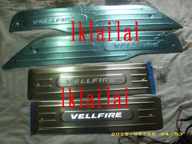 Toyota Vellfire Site / Door Sill Plate LED [4psc per Set]