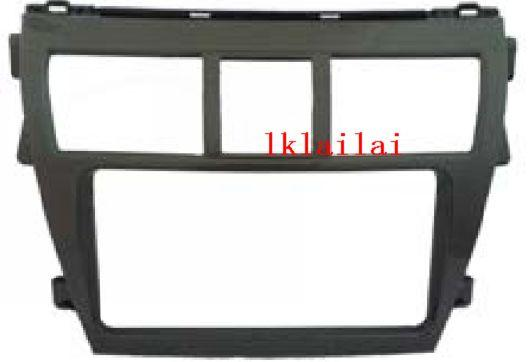 Toyota Vios '07 Double Din Casing/Dashboard Panel Casing [Black]