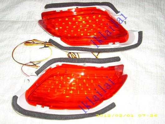 Toyota Vios '07 Rear Bumper Reflector Lamp With LED Light