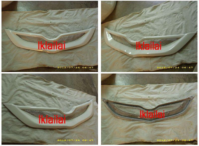 Toyota Vios '07 TRD Front Grille Fiber Painted [LL1120]