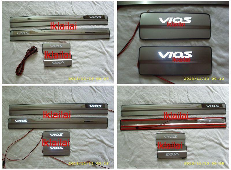 Toyota Vios '13 Door / Sill Plate LED [4pcs/set]