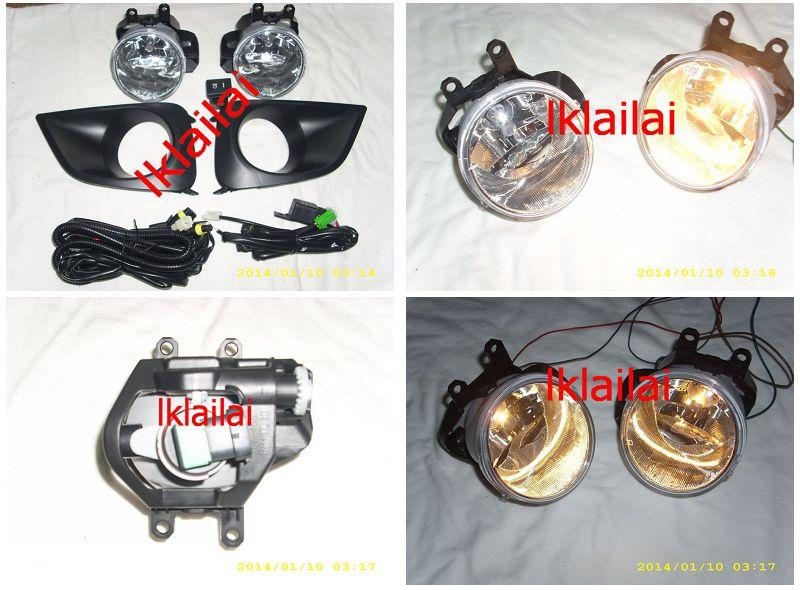 Toyota Vios '13 Fog Lamp Set [Cover + Wiring + Switch]