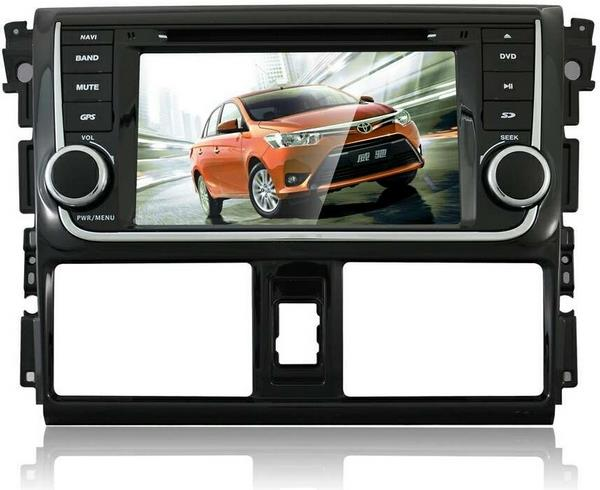"TOYOTA VIOS 2013-16 DLAA 7"" Full HD Double Din GPS DVD USB TV Player"