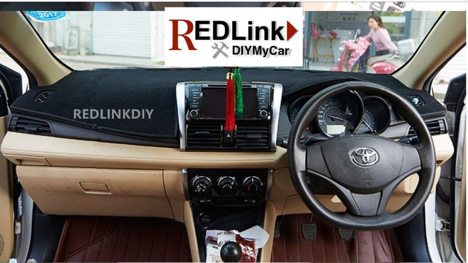 Toyota Vios 2015 Dashboard Mat Cover