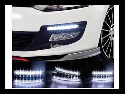 Toyota Vios 6 LED DRL Daytime Running Lights 12V