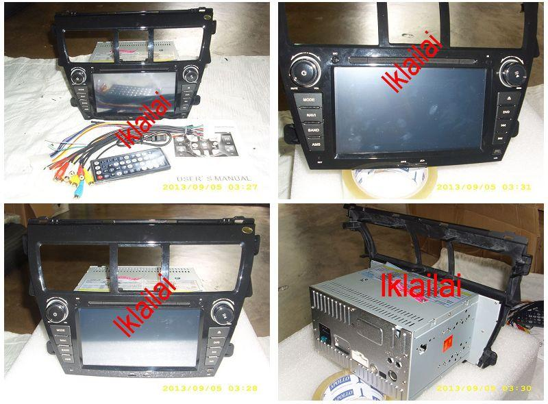 Toyota Vios 7 inch OEM DVD Player Full HD Screen