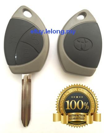Toyota Vios Remote Car Key Blank 3 Button Replacement ShellCase