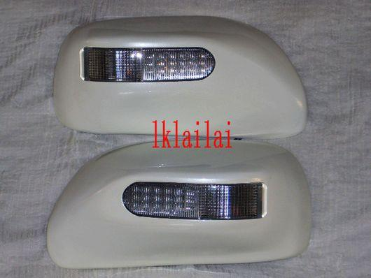 Toyota Wish '03-07 Sakura Side Mirror Cover LED [Painted]