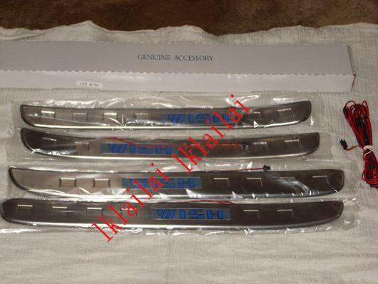 Toyota Wish '03-08 Door / Side Sill Plate LED