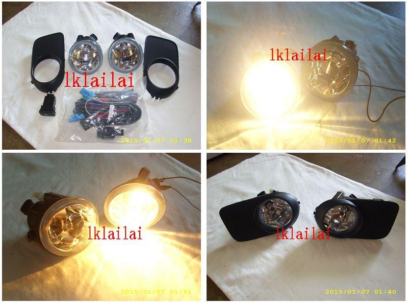 Toyota Wish `03-09 Fog Lamp With Wiring + Switch [Glass Lens]